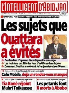 Chronique diplomatique / Côte d'Ivoire : Il faut un gouvernement de moralité acceptable…, rigoureux et compétent 20120102_linteligeantdabidjan_2429-222x300